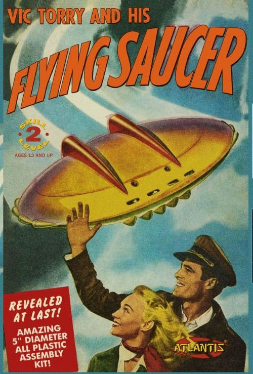 Vic Torry and his Flying Saucer 5 inch series with Light Atlantis